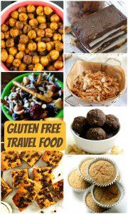 Gluten free travel foods