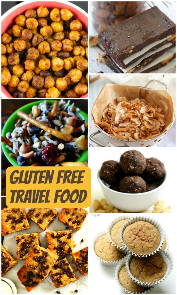 Gluten free travel foods