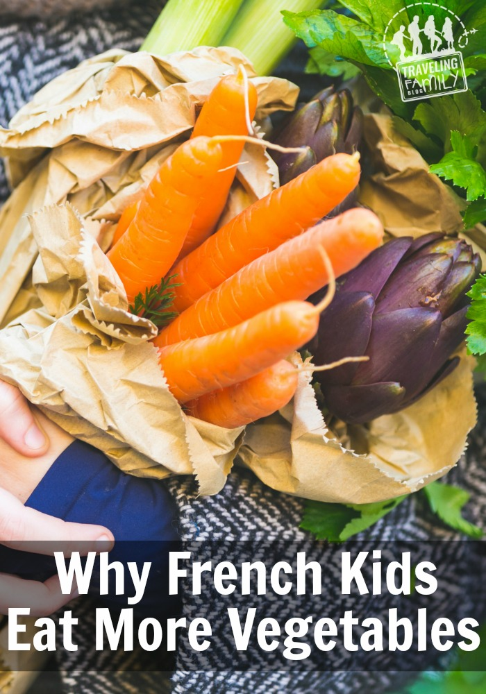 Why french kids eat more vegetables