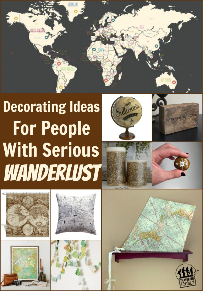 decorating ideas for people with wanderlust