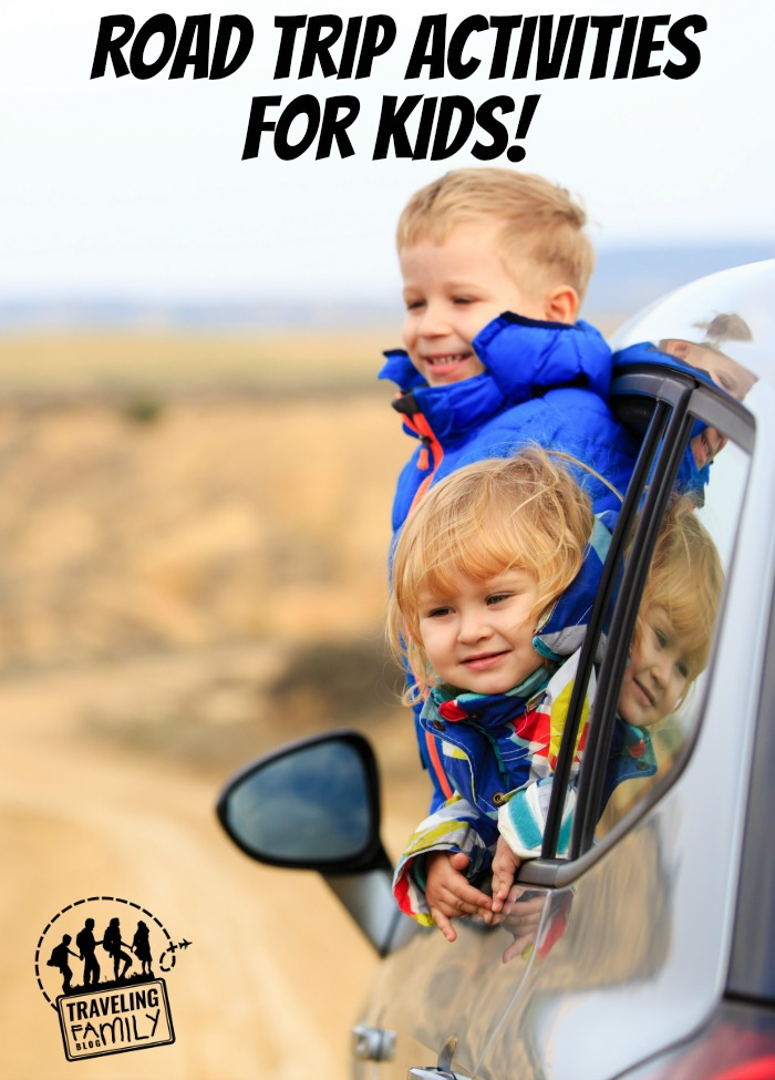 If you are planning a road trip soon, that means you're probably trying to figure out some road trip activities to keep the kids busy in the car for 14+ hours. We are driving halfway across the country this Summer, and here are some of the things we'll be doing to keep the kids active.