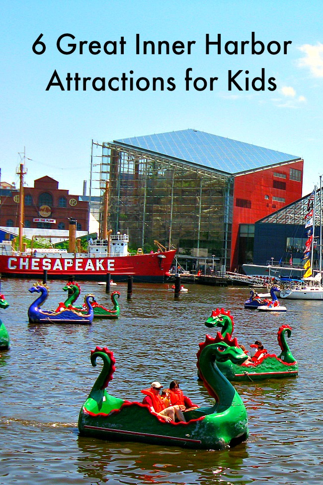 Family Vacation Ideas in Baltimore's Inner Harbor