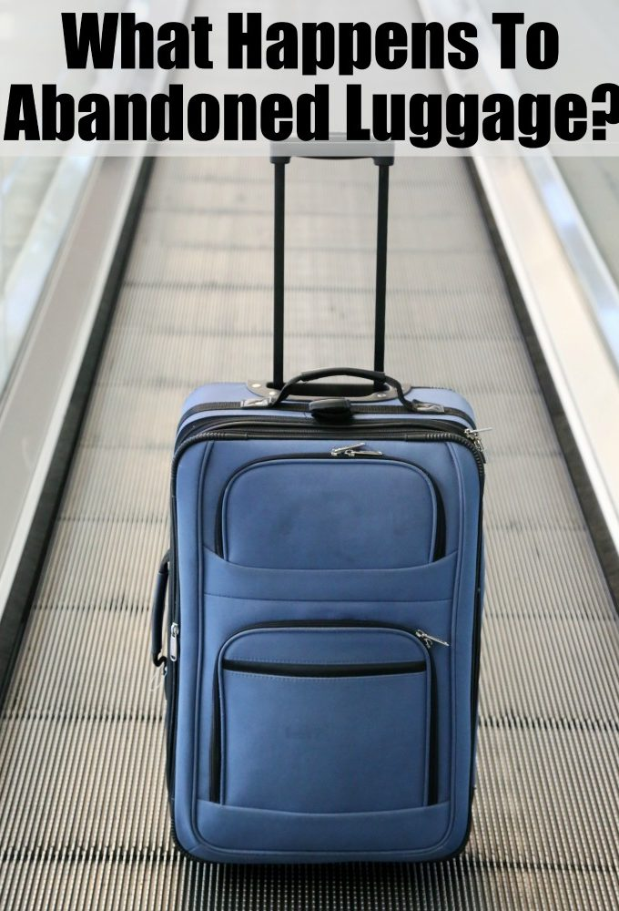 What happens to unclaimed baggage