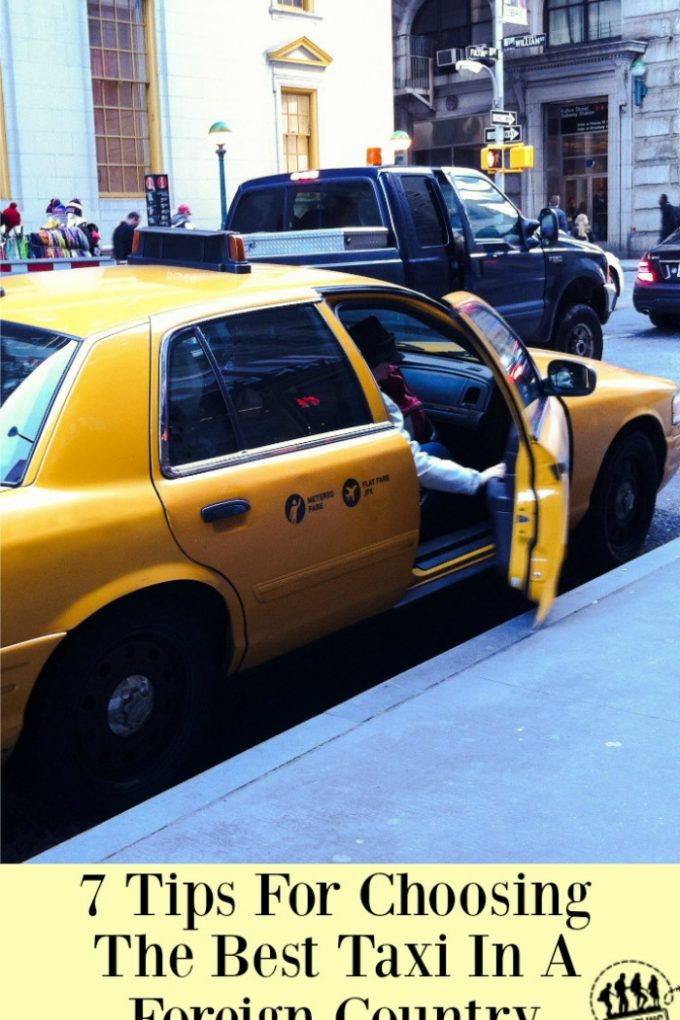 7 Tips for Choosing a Taxi in a Foreign Country