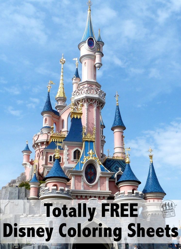 totally free disney coloring sheets