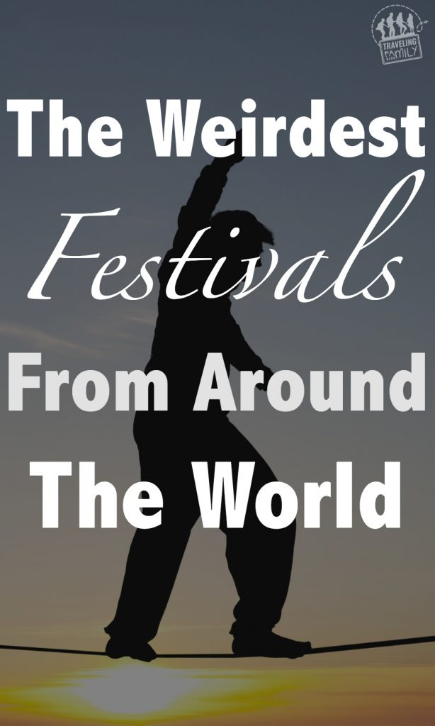 weirdest festivals