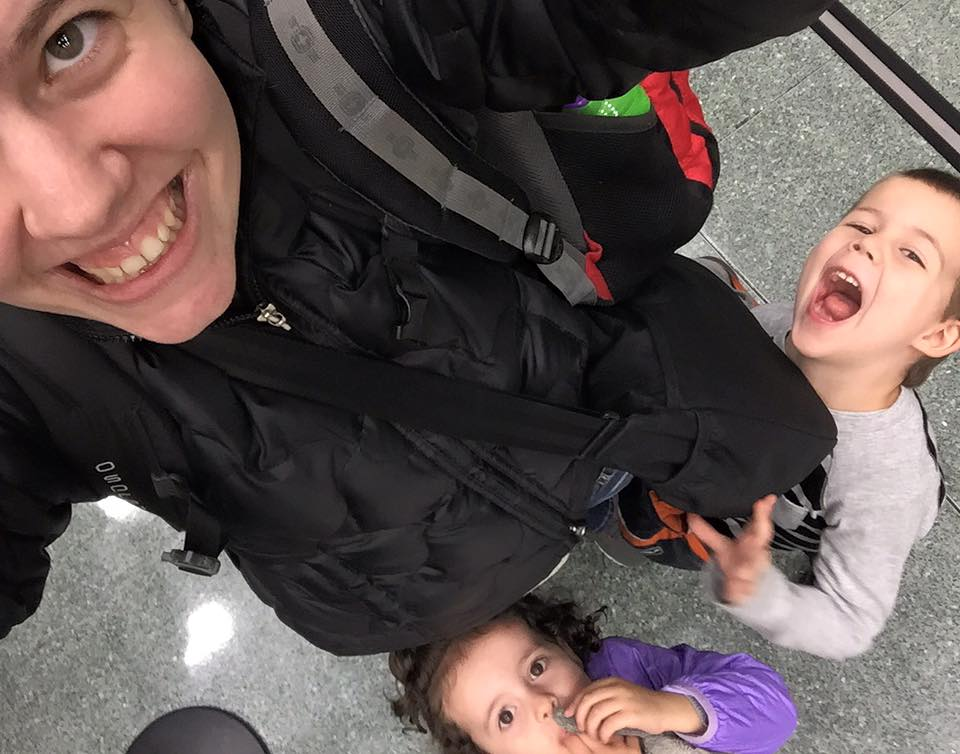 carry on travel with kids