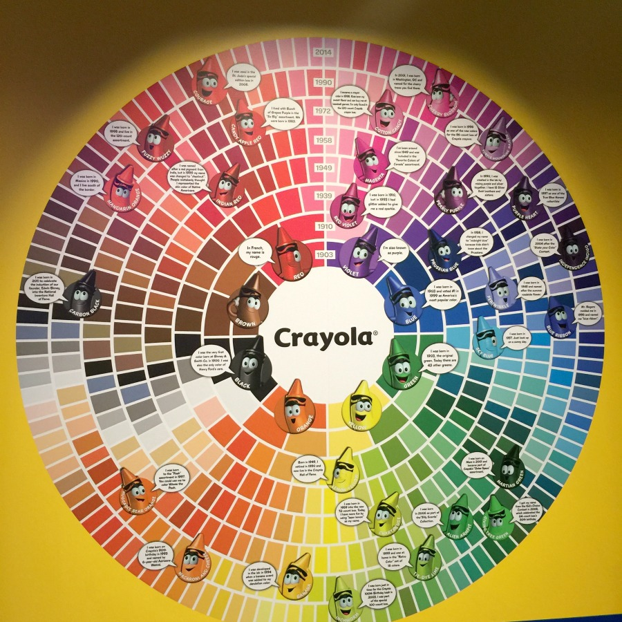 crayola color wheel