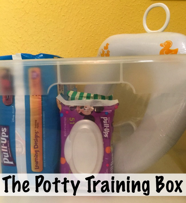 potty training box
