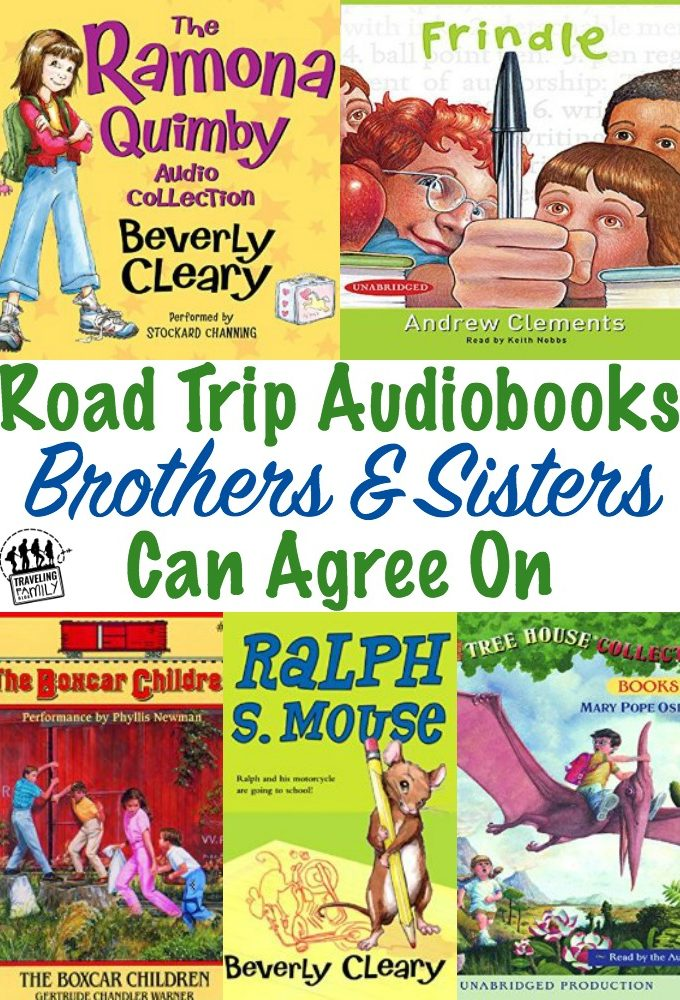 Best Audiobooks For Family Road Trips {Age 5-7}