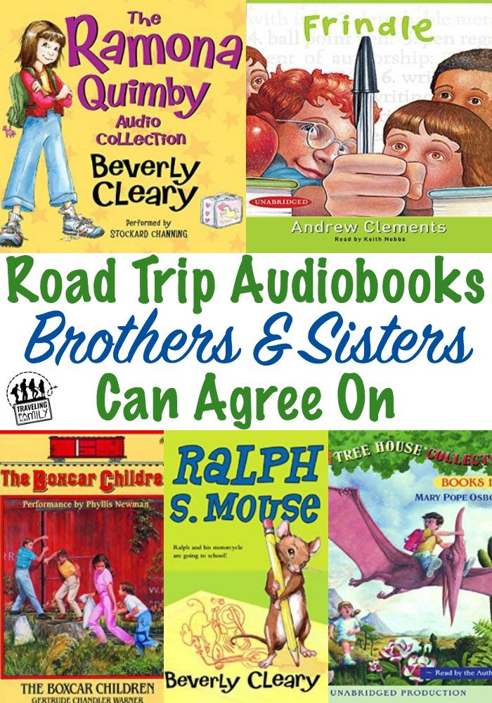 road trip audio books