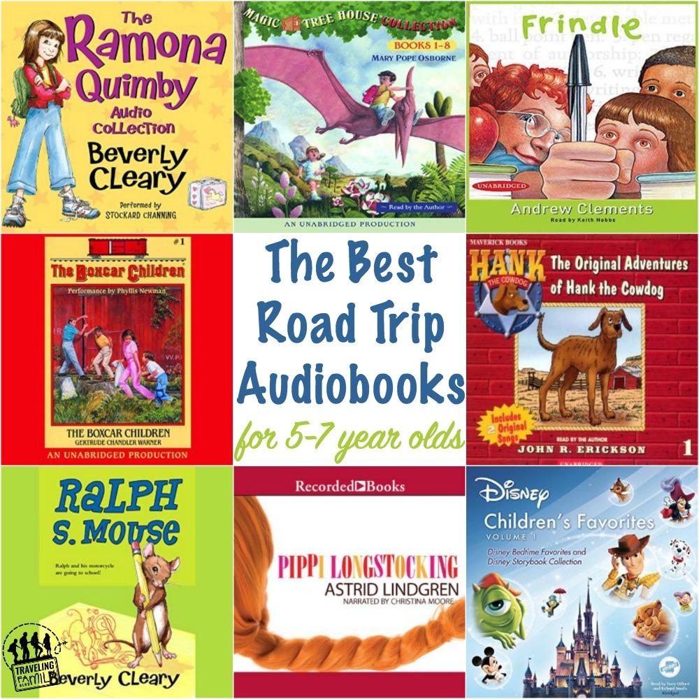 road trip audiobooks