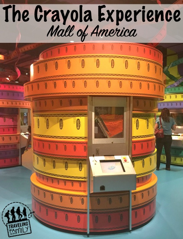 the crayola experience at mall of america