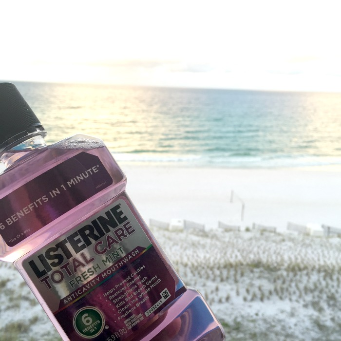 bold beach moments with listerine