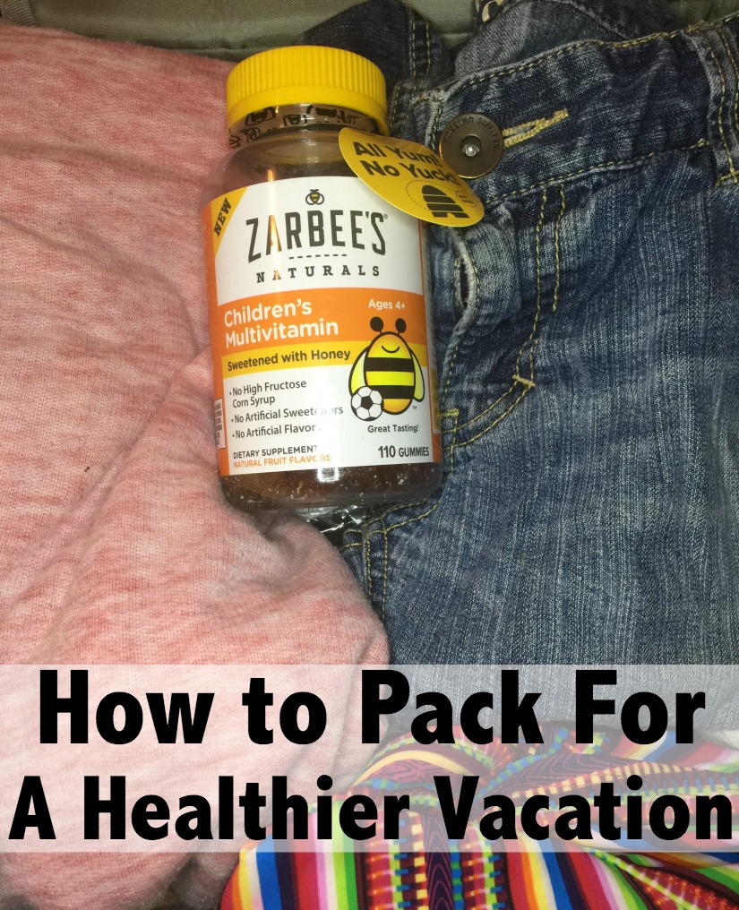 pack for a healthier vacay