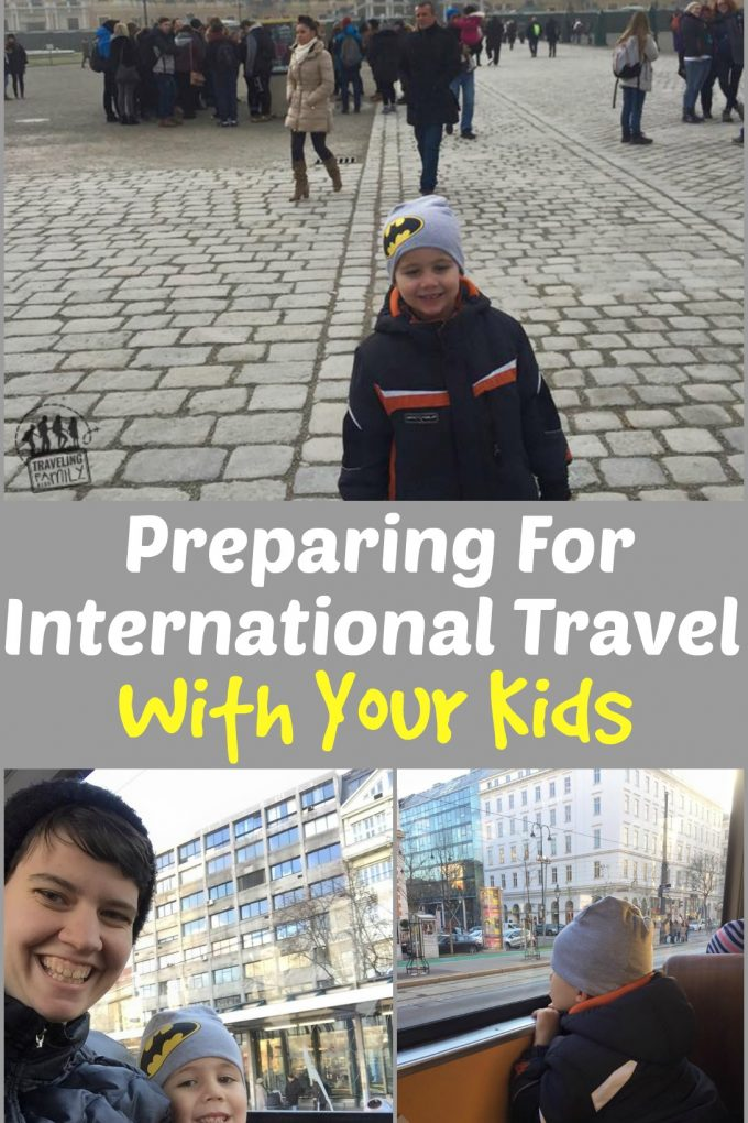 preparing for international travel with your kids