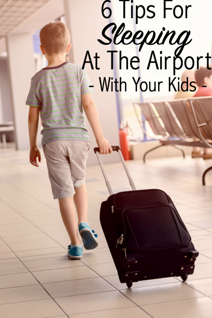 6 Tips For Sleeping In Airports With Your Children