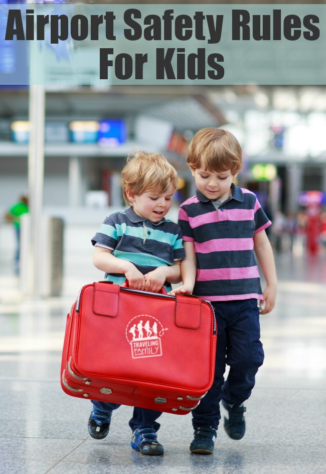 Airport Rules Flying Safely With Children