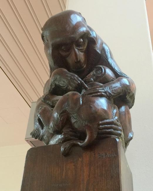 monkey-sculpture