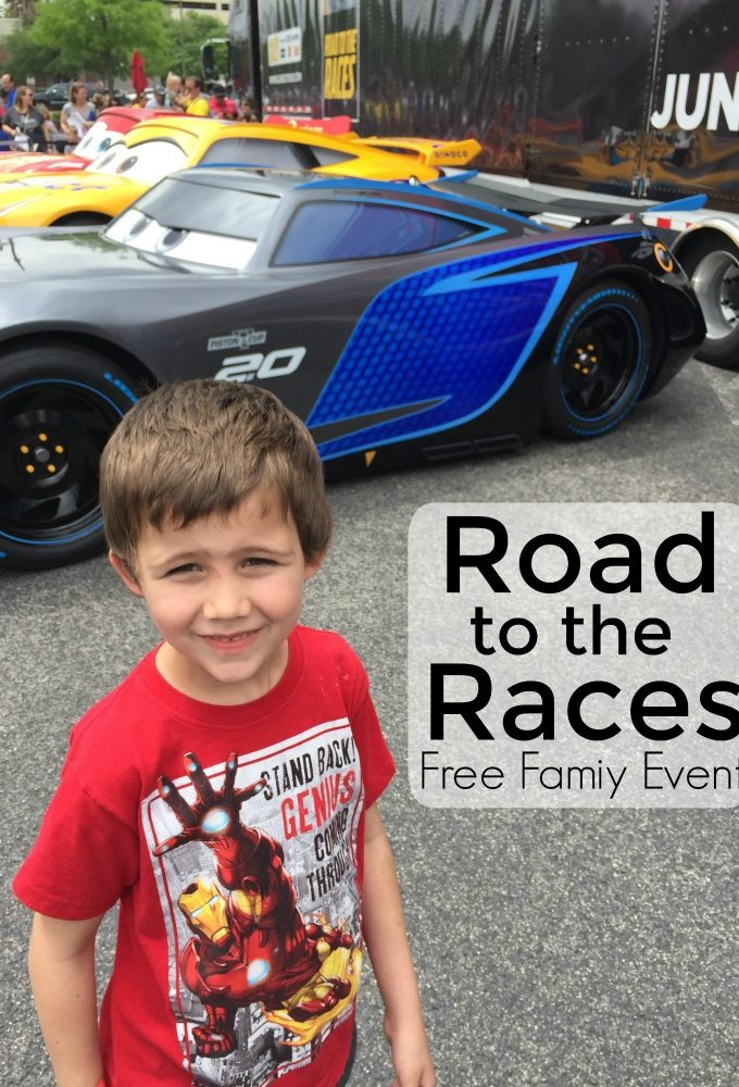 Don't miss the Cars Movie Road to the Races event near you!