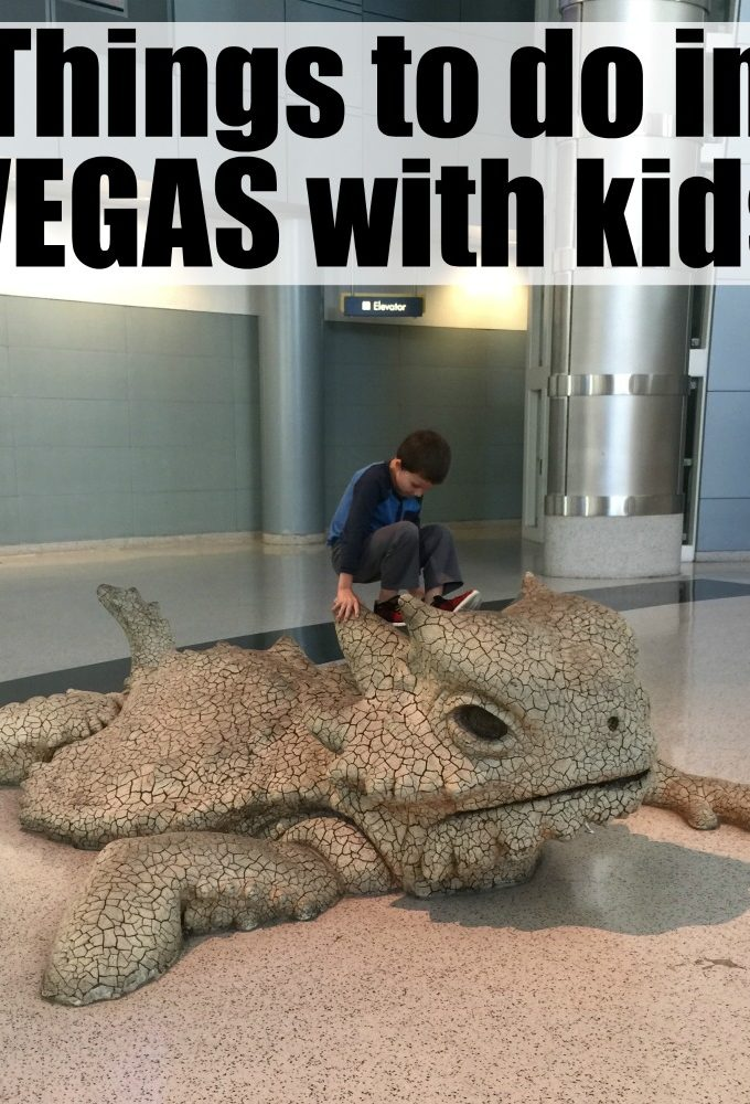 Fun things to do with your kids in Las Vegas, Nevada