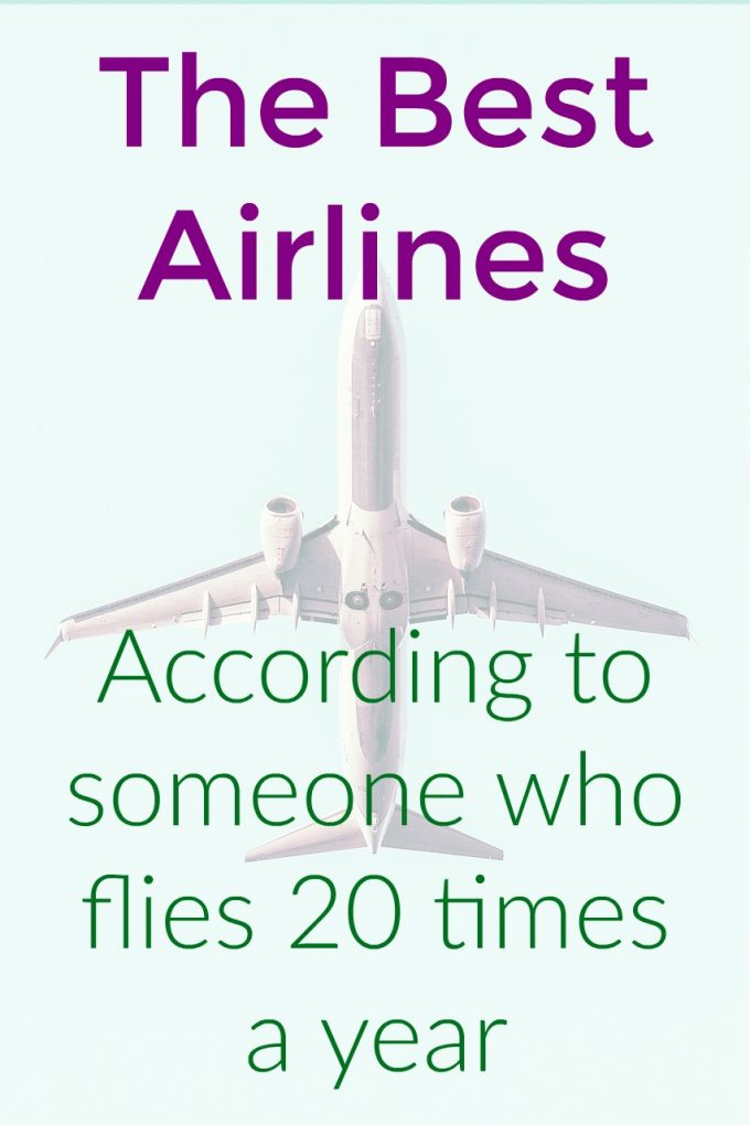 My Top 10 Favorite Airlines
